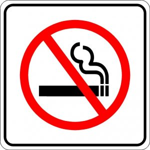 No Smoking Image Sign